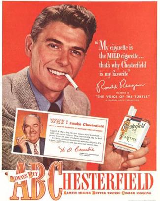 Ronald Regan recomenda, tá esperando oquê? fume!