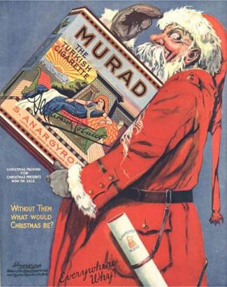 O que seria do Natal sem Cigarros, peru é para os fraco.